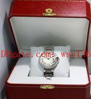 공장 공급 업체 36mm 중소형 다이아몬드 베젤 쿼츠 운동 시계 W69011Z4 남자의 여자 손목 시계 원래 상자