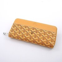 2019 summer men' s and women' s zipper wallet fashio...