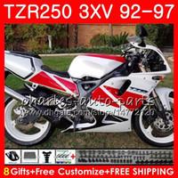 본체 YAMAHA TZR-250 3XV TZR250 공장 백색 92 93 94 95 96 97119HM.14 TZR250RR RS YPVS TZR 250 1992 1993 1994 1995 1996 1997 페어링
