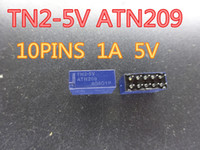 2 قطعة / الوحدة إشارة التتابع TN2-5V ATN209 10PINS 1A 5V في الأسهم المكونات الإلكترونية