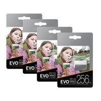 스마트 폰 카메라 갤럭시 노트 7 8 S7 S8 DHL 핫 2백56기가바이트 128기가바이트 마이크로 TF 메모리 카드 64기가바이트 EVO 선택 100메가바이트 / s의 C10