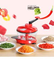 Picadora de carne multifuncional 2.5L picadora de alimentos picadora manual