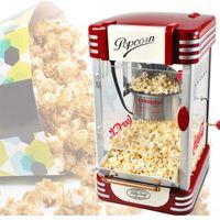 Автоматическая электрическая Popcorn Maker машина Бытовая коммерческих горячего масла попкорна быстрого отопления с антипригарным горшок