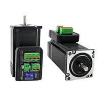 CNC 부품 NEMA23 통합 하이브리드 서보 스테퍼 모터 오픈 루프 또는 폐쇄 루프 57mm DIY CNC 라우터 CNC 조각 기계