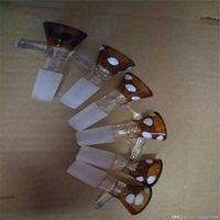 Punto de onda Campana Boca Adaptador de vidrio Bongs Accesorios, Tubos de fumar de vidrio Coloridos Mini Mini Multi-Color Tubos de mano Mejores tubos de vidrio de cuchara