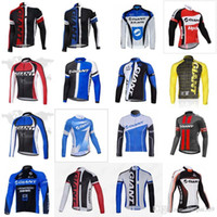 GIANT team Cycling long Sleeves jersey Spring Autumn bicycle...