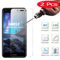 2Pcs 2. 5D 9H Tempered Glass Huawei Honor 6C Pro Screen Prote...