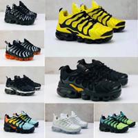 Plus TN Crianças Running Shoes VELOCIDADE PRETA TUBARÃO SINTONIZADO Infantil Meninos Meninas Childen Athletic Sneakers Crianças Sapatilhas