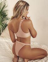 al por mayor pieza de un bikini sexy de cuero de la PU de las mujeres dividió la impresión del punto del traje de baño un hombro atractivo bikini conjunto chicas yakuda desgaste elegante flexibles