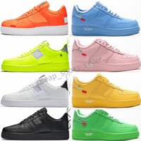 Force Low zapatos de hombre MCA University Blue Volt air chaussures 2019 Nuevos zapatos para correr para entrenadores para hombre Utility Woman Sports Designer Sneakers