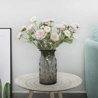 Künstliche Ranunculus Asiaticus Hochzeit Dekoration Gefälschte Blume Silk Simulation Blumen Künstliche Blumen für Zuhause-Party-Dekor