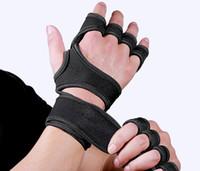 2020 الرجال للياقة البدنية ممارسة النخيل ممارسة الضغط قفازات الحراس معصم تنفس التدريب yakuda اللياقة البدنية الصالة الرياضية الجملة الرياضة الخصم رخيصة