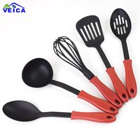 FDA Approved 5pcs lot Nylon Cooking Tools Silicone Kitchen U...