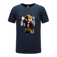Конструктор 2020 моделей взрыва мужская мода футболка аниме One Piece 3D печать, первый в мире 12 цветов.