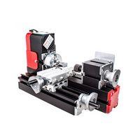 2020 Venta caliente miniatura máquina de metal de la máquina multifunción de alta calidad y precisión Torno 20.000 rev / min bricolaje
