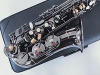 профессиональный класс новое качество Yanazawa A-901 ми-бемоль альт-саксофон черный никель золото музыкальные инструменты супер играл саксофон