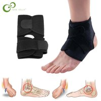 1pcs Sport Football Breathable Ankle Brace Protector Adjusta...