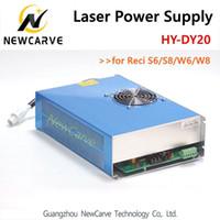 DY20 Laser Alimentation 220 V pour Reci S6, W6, S8, W8 CO2 laser machine de gravure Tube NewCarve