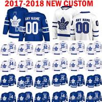 cd8aebb8f62 CUSTOM MENS Toronto Maple Leafs 25 James Van Riemsdyk 31 Frederik Andersen  Jersey 42 Tyler Bozak 44 Morgan Rielly William Nylander Jerseys