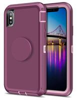 스탠드 전화 케이스 팝 아이폰 11 킥 수비수 커버 쉘에서를 내장 프로 맥스 XS XR 기가 플러스 LG STYLO 5 K40 주 10 프로 A20 A10e 모토 E6