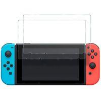 Prémio de vidro temperado protetor de tela temperado película protetora para nintendo switch e switch lite sem pacote de varejo