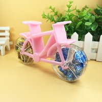 Creative cute motorcycle- shaped grade plastic candy box birt...