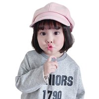 Thin Child Painter Cap Toddler Baby Girls Fashion Cute Solid...