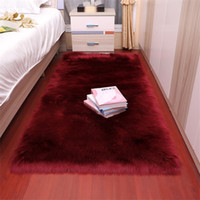 Factory direct imitation wool living room bedroom carpet bed...