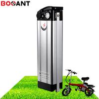 Bateria De Tubo De Peixe De Prata para baixo 14 S 51.8 V 52 V 13Ah 10Ah bateria de lítio de bicicleta elétrica 18650 para 48 V 250 W 350 W 500 W motor Brushless
