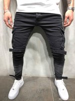 Plus Size 3XL 4XL New Men Skinny Jeans 2019 Slim Fit Stretch...