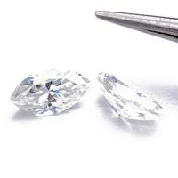 Оптом маркиз блестящий вырезать моассанит свободных камней VVS1 отличный вырезанный сорт тест положительный лабораторный алмаз для изготовления кольца ювелирных изделий