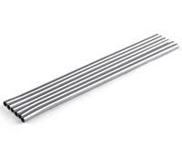 Diametro 6mm DHL FEDEX della cucina della famiglia di Antivari del metallo delle cannucce della cannuccia diritta dell'acciaio inossidabile durevole