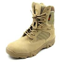 رجل عسكرية تكتيكية الكاحل أحذية الصحراء العسكرية القتالية للأحذية حذاء رياضة clombing