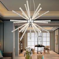 Les lustres acryliques modernes à bulles de lumière pendentif pissenlit minimaliste s'allume pour la barre de restaurant salle à manger cuisine salle a mené la lumière pendante AC85-265V