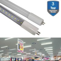 T5 LED-rörlampa Ljus, G5 LED-rör, dubbla ände Powered Ballast Bypass Ersättning för Flourescent Tubes Garage Warehouse Factory Shop