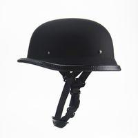 Radfahren Protektoren Helme der neuen Art-deutschen Motorrad-halber Sturzhelm Vintage-Zerhacker-Kreuzer-Casco DOT genehmigt