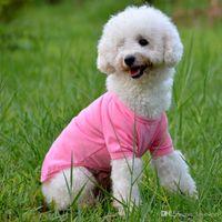 F09 nouveaux vêtements d'été polo chien shirt pour chiens vêtements pour chiens mignons pour les vêtements pour chiens petits animaux de compagnie moyen