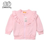 Emmababy Kids Clothes Baby Girls Coat Princess Ruffled Outwe...