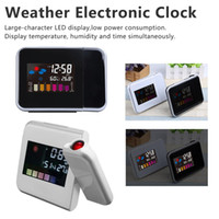 Weather Station Radios & Alarm ClocksElectronic Table Watch ...