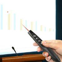 Rf 2.4G Wireless Laser Pointer PPT Presentazione Advancer vibrazione della penna del Powerpoint Presentazione Clicker di controllo remoto