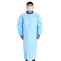 24H Stok Su geçirmez izolasyonu Giyim Frenulum Koruyucu Giysi Tek Abiye One Time Sigara Kumaş Koruma Suits dokuma