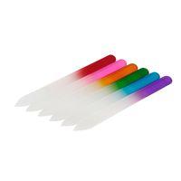 다채로운 유리 네일 파일 내구성 크리스탈 파일 네일 버퍼 nailcare 매니큐어를위한 네일 아트 도구 UV 폴란드어 도구 뜨거운 0603022