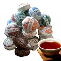 10 pcs Puer Tea China Top- Grade Raw and Cooked Mini Puerh Gr...