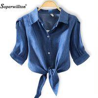 المرأة البلوزات قميص أعلى 2021 كيمونو الصيف المرأة بلوزة عارضة مخطط قميص القوس blusas فضفاضة زائد حجم الملابس 4xl قمم