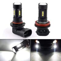 H8 H9 H11 120 와트 LED 안개 전구 운전 조명 실행 램프 높은 전원 흰색 조명 LED 전구 자동차 차량 자동차 액세서리