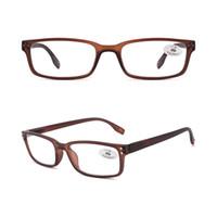 dos homens quadrados óculos de leitura para venda na alta qualidade Man baratos óculos de armação Leitores Discount forma Vintage Plastic +200 +3.00
