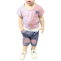 Boys' Casual Suits Toddler Baby Top + Trousers 2020 Sum...