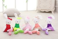 Mamas & Papas Baby Toys Cute Rabbit Sleeping Comfort Stuffed...
