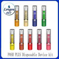 Cartucce POSH PLUS monouso Dispositivo Pod Starter Kit 280mAh Batteria 2,0 ml Vape Svuotare penna 10 colori PK Puff Bar EON