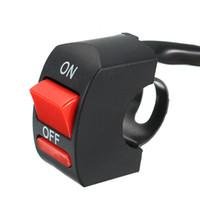 78 da motocicleta guiador acidente perigoso Luz botão do interruptor ON OFF
